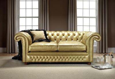englische stilm bel chesterfield ledergarnituren. Black Bedroom Furniture Sets. Home Design Ideas